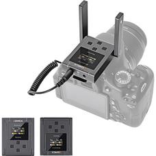 Comica BoomX-U U2 (TX+TX+RX) - Беспроводная радио система с петличными микрофонами