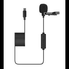 Comica CVM-V01SP UC - Петличный микрофон для USB Type-C 6м