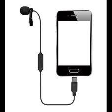 Comica CVM-V01SP UC - Петличный микрофон для USB Type-C 2.5м