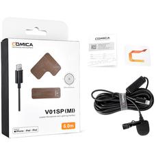 Comica CVM-V01SP MI - Петличный микрофон для iPhone Lightning 6м