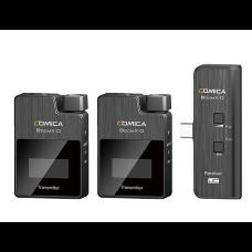 Comica BoomX-D UC2 (TX+TX+RX)  - Беспроводной микрофон для смартфонов USB Type-C