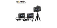 Comica CVM-WS60 COMBO UHF Беспроводной петличный микрофон для смартфона
