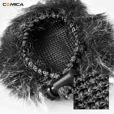 COMICA CVM-MF1 меховая ветрозащита для петличного микрофона