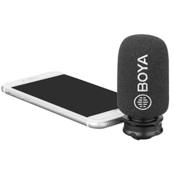 Boya BY-DM200 Кардиоидный микрофон для устройств на iOS с Apple Lightning