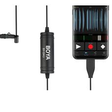 BOYA BY-DM2 Петличный микрофон для Android устройств Type-C-разъём