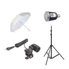 """Grifon iS-45 - Комплект вспышки с зонтиком """"Лайт 45Дж"""""""