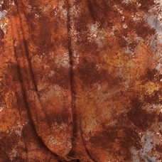 Grifon W-038 фон пятнистый терракотовый с желто-голубым 2,7х5 м