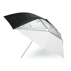 Grifon TWB-101 зонт комбинированный на просвет/отражение белого цвета 101 см