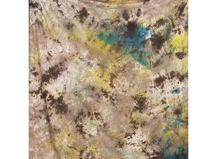 Grifon W-072 фон пятнистый светлый с коричневыми и желто-голубыми пятнами 2,7х5 м
