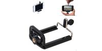 Strobolight CL1 раздвижной зажим клипса для мобильных телефонов для селфи, крепление на штатив