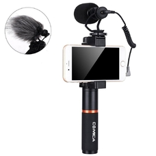 Микрофон-пушка Comica CVM-VM10-K1 кардиоида для смартфона
