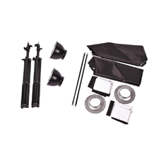 Комплект импульсного света FST F-400 Softbox Kit