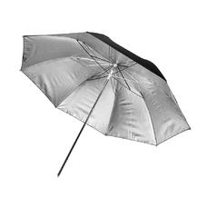 """Фотозонт серебристый отражающий MINGXING Black / Silver Umbrella (45"""") 114 cm"""