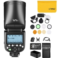 Вспышка накамерная Godox Ving V1F TTL с круглой головкой для Fujifilm