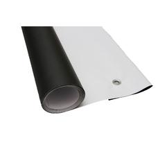 Фон виниловый FST 160x340 см двусторонний чёрный/белый