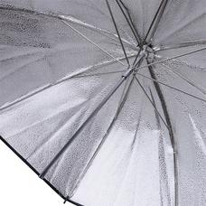 """Фотозонт гранулированный серебристый Mingxing Grained Umbrella (40"""") 101 cm"""