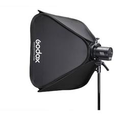 Софтбокс Godox SGGV8080 для накамерных вспышек (с сотами и адаптером S2)