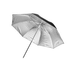 """Фотозонт серебристый отражающий Mingxing Black / Silver Umbrella (33"""") 84 cm"""