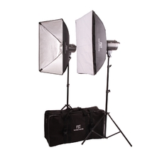 Комплект импульсного света FST F-300 Softbox Kit