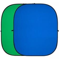 Фон складной FST BP-025 хромакей двусторонний 100x150 см