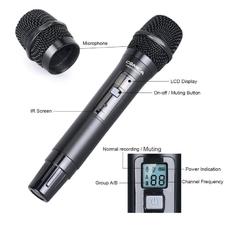 Репортёрский радио-микрофон Comica CVM-WM200/300HTX