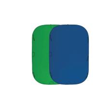 Fujimi FJ 706GB-180/210 Складной фон хромакей 180х210 см синий/зелёный