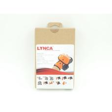 Кистевой ремень #004 LYNCA (универсальный, цвет оранжевый)