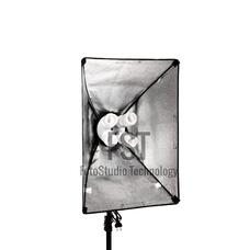 Осветитель люминесцентный FST KF-104II (4x45 Вт + софтбокс 60x80 см)