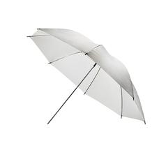 """Компактный белый отражающий фотозонт MINGXING 2-folded Black / White Umbrella (45"""") 114 cm"""