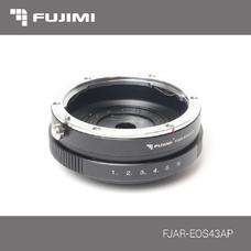 Fujimi FJAR-EOS43AP Переходник с EOS на Micro 4/3 c диафрагмой