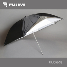 Fujimi FJU562-33 Зонт студийный чёрно-белый (84 см)
