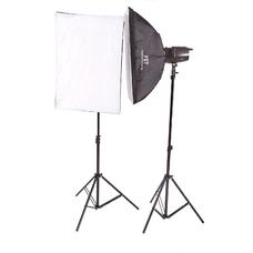 Комплект импульсного света FST E-250 Softbox Kit