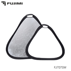 Fujimi FJ 707 Ручной отражатель 2 в 1 серебро/белый 80 см