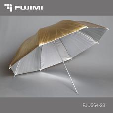 Fujimi FJU564-33 Зонт студийный переключаемый серебро-золото (84 см)