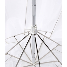 """Компактный просветной фотозонт MINGXING 2-folded Translucent Umbrella (45"""") 114 cm"""