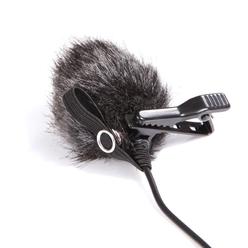 Boya BY-B05 Меховая ветрозащита для петличных микрофонов (в комплекте 3 шт)