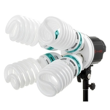 Люминесцентный источник освещения Jinbei SUN-400 (в комплекте лампы 4 х 150W)