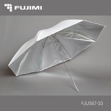 Fujimi FJU567-33 Зонт студийный однослойный серебро (84 см)