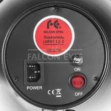 Осветитель Falcon Eyes LHPAT-32-3 с отражателем 32 см
