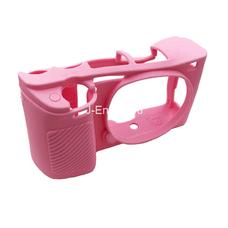Силиконовый чехол для фотоаппарата Sony Alpha ILCE-6000/A6000 (цвет розовый)