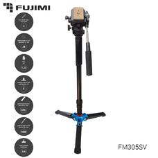 Fujimi FM305SV Алюминиевый монопод с 3-х точечным упором без головы (1650 мм)