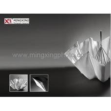 """Компактный серебристый отражающий фотозонт MINGXING 2-folded Black / Silver Umbrella (45"""") 114 cm"""