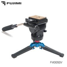 Fujimi FM305SV Алюминиевый монопод с 3-х точечным упором и головой (1650 мм)