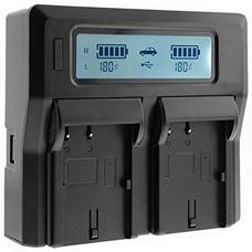 Двойное зарядное устройство NP-FZ100 для двух аккумуляторов Sony NP-FZ100