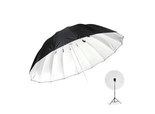 Фотозонт Godox UB-L3 185cm серебро/черный