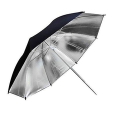Фотозонт Godox UB-002 84cm серебро/черный