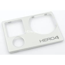 Передняя панель Hero 4 Silver