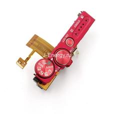Верхняя часть корпуса Nikon Coolpix S9100 красная (шлейф,выбор режимов, кнопки спуска и включения)