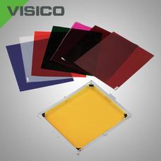 Фоновый отражатель Visico BF-601 с зажимом и фильтрами