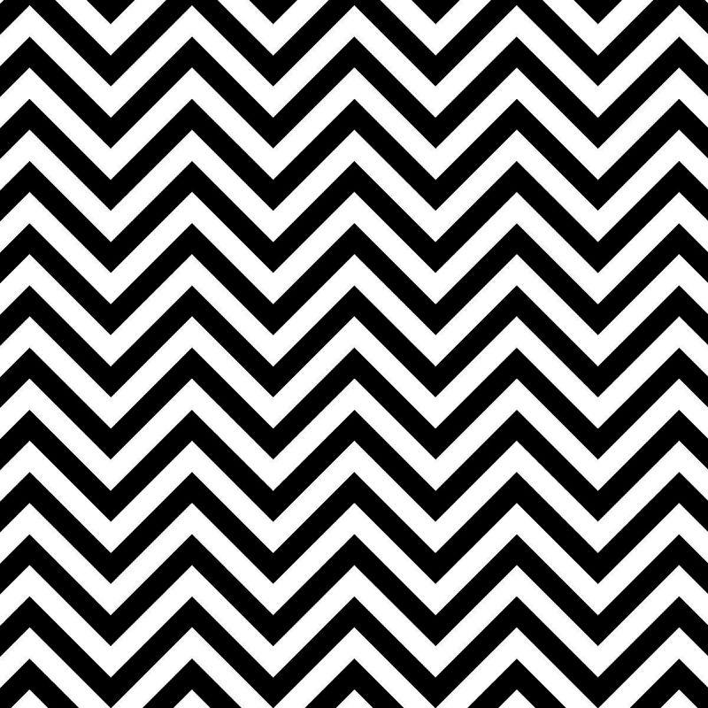 Ella Bella FADELESS CHEVRON BLK/WHT #57715 фон бумажный шеврон зебра 1.2х15 м